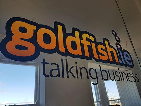 goldfish-logo-office-glass-panel